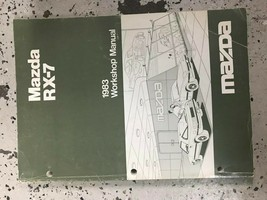 1983 Mazda RX-7 RX7 Service Repair Workshop Shop Manual OEM - $44.50