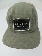 Brixton MFG Co Fitted M Adult Panel Ball Cap Hat - $14.84