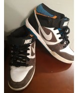 Nike Sneakers Shoes 343664-411 Twilight Mid Skateboard Size Mens 12 Gray Blue - $39.55