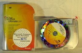Microsoft Office Ultimate 2007 GENUINE Full Retail - $19.99