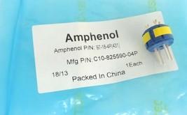 NEW AMPHENOL 97-18-4P CIRCULAR INSERT, PIN, 4WAY, SOLDER C10-825590-04P