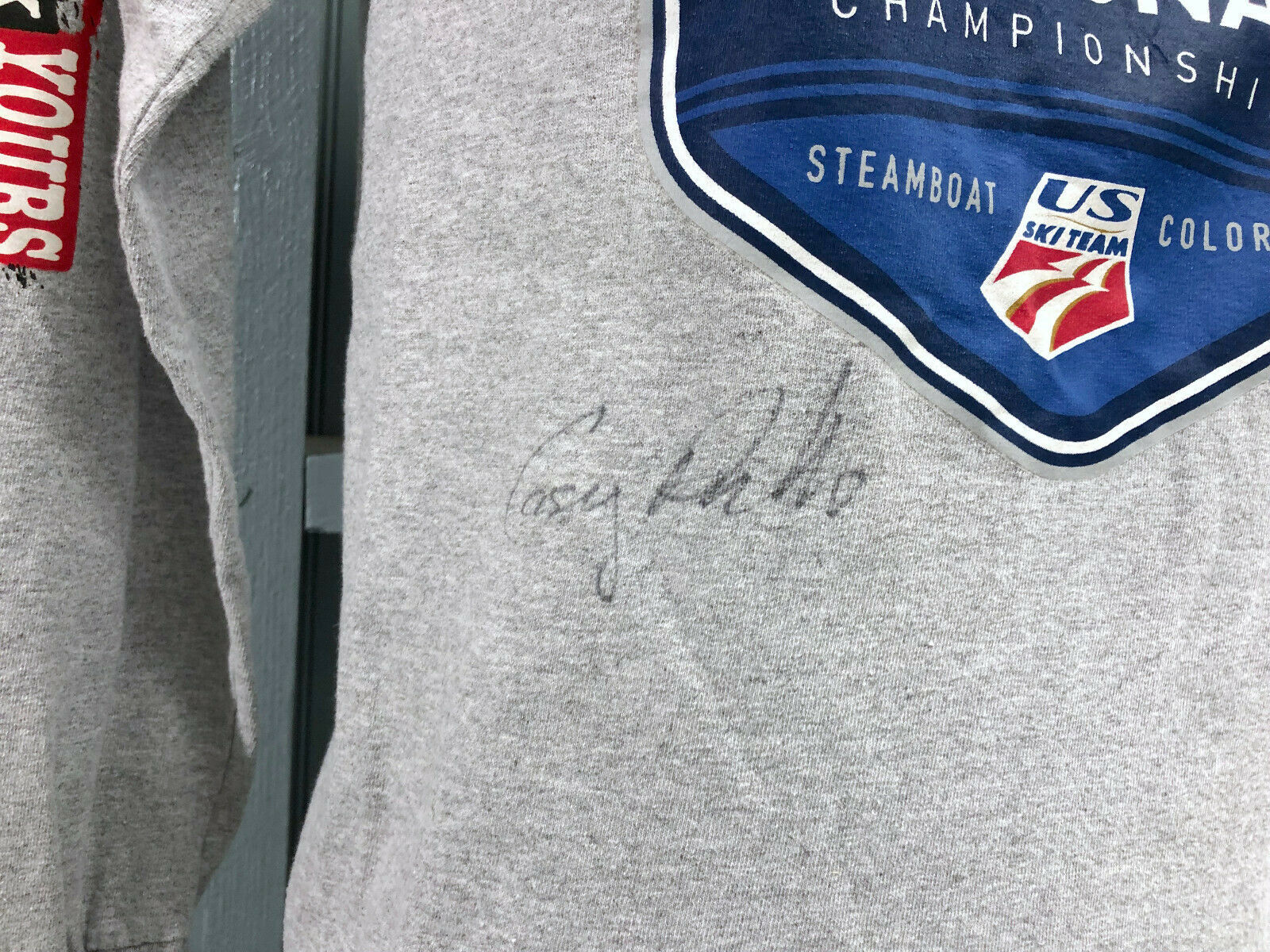 US Ski Team National Championships Steamboat 2016 Autographed Small T-Shirt