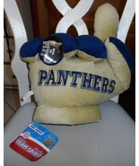 """Pitt Panthers PLUSH collegiate fan hand 18"""" and Pin from Team Spirit - $15.00"""