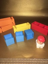 1980's Fisher Price Blocks 'n More #193 Toddler Building Set - $5.03