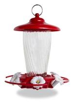 Pennington 32 oz Decorative Glass Hummingbird Feeder - $24.84