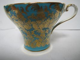 AYNSLEY TEA CUP AND SAUCER              G image 6
