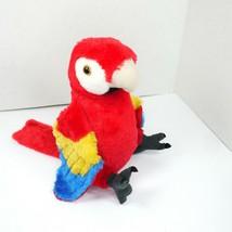 "Wild Republic 12"" Scarlet Macaw Plush Parrot #12249 Stuffed Animal - $18.76"