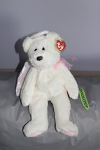 """TY Retired Beanie Buddies Collection 14"""" Large Halo Angel Bear 1999 - $19.79"""