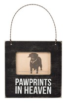 Pawprints in Heaven Mini Frame Primitives by Kathy Picture magnet wall cat dog - $5.75
