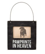 Pawprints in Heaven Mini Frame Primitives by Kathy Picture magnet wall c... - $5.75