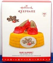 The Wizard of Oz Ruby Slippers Hallmark Keepsake Christmas Ornament 2016... - $17.90