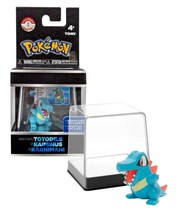 Pokemon Trainer's Choice Totodile with Display Case TOMY New in Package - $11.88