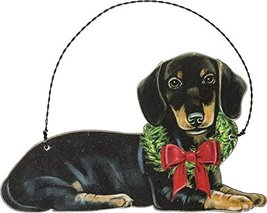 Primitives by Kathy Ornament - Christmas Dachshund Home Decor - $16.99