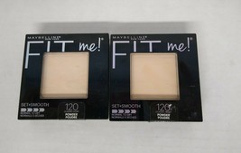 Set of 2: Maybelline New York Fit Me! Pressed Powder, Classic Ivory 120 - $10.87