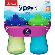 Playtex Sipsters Stage 2 Spill-Proof, Leak-Proof, Break-Proof Spout Sipp... - $9.47