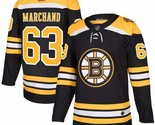 Brad Marchand Boston Bruins adidas NHL Authentic Jersey Adult Large size 52 - $178.19