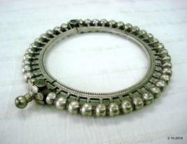 vintage antique tribal old old silver armlet bracelet bangle rajasthan i... - $381.15