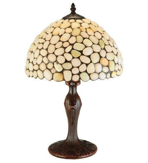 Table Lamp w Natural Stone Lamp Shade - $644.49