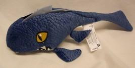 "JURASSIC WORLD Park BLUE MOSASAURUS DINOSAUR 12"" Plush STUFFED ANIMAL To... - $18.32"