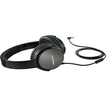 Bose QuietComfort 25 Acoustic Noise Cancelling Headphones (Apple iOS, Bl... - $246.51