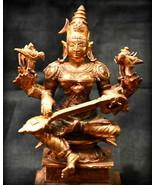 Goddess Matangi Idol In Pure Copper - $138.60