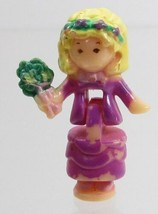 1993 Vintage Lot Polly Pocket Doll Wedding Chapel - Polly Bluebird Toys - $6.50