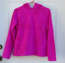 New Sz XL - XXL Old Navy Girls Deep Orchid Pull Over Fleece Top Sweater w/Hood - $13.25
