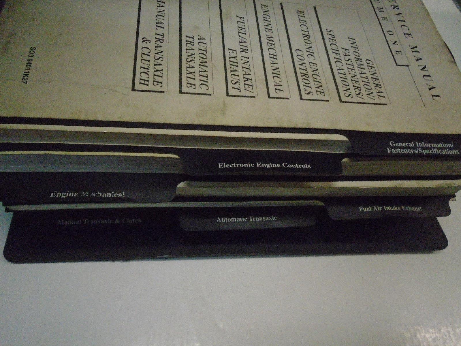 1991 1992 1993 1994 SATURN Service Shop Repair Manual OEM FACTORY 3 Volume Set