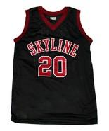 Gary Payton #20 Skyline High School New Men Basketball Jersey Black Any ... - $44.99+
