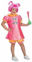 BABY DOLL CLOWN CHILD HALLOWEEN COSTUME GIRLS SIZE SMALL 4-6 - $21.15