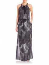Elie Tahari York Printed Maxi Dress US L - $395.00