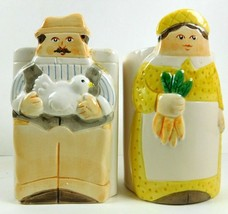 Sgma The Tasteaetter Salt and Pepper Shakers, Farmer and Farmers Wife - £7.16 GBP