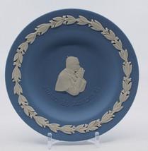 Wedgwood Jasperware Joannes Pavlvs II Small Plate Dish Pope John Paul En... - $26.77