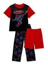 Spiderman Marvel Avengers 3-Piece Pigiama Set Nwt Ragazzi Misura 6 - $19.14
