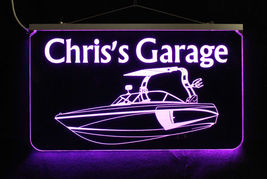 Personalized Boat Sign LED Man Cave Sign- Garage Sign, Bar sign, Camping Sign image 6