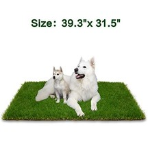 Artificial Grass Patch for Dogs Potty Training, Soft & Pet-Friendly Turf... - $37.26