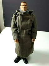 21st Century Toys Figure military heroe camo boots trench coat 1019er-bb... - $21.73