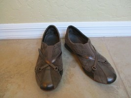 Cole Haan Brown Suede Slip On Walking Shoes For Women Size 7 B Eur 3.5 - $28.49