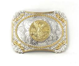 Texas West Western Cowboy/Cowgirl Premium Rectangle Buckle Head/ Multi Symbols - $12.34