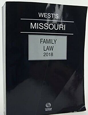Primary image for West's Missouri Family Law 2018 US paperback - CLEAN