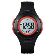 Kids Watch Multi Function 50m Waterproof Sports Outdoor Digital LED Watc... - $18.29