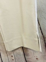 Women's Anne Klein Sz 12 Tan With White Side Stripe Pants NWT - $14.03
