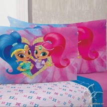 Shimmer and Shine Genies Sheets Set Decoration FULL Soccer 4PC Gift Girl Bedding - $72.22