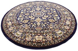 ORIENTAL rug round circle superb quality perfect deal sale - $395.01