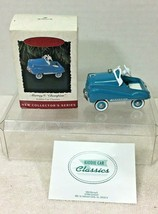 1994 Kiddie Car Classic #1 Hallmark Christmas Tree Ornament MIB Price Ta... - $18.32