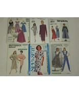 6 PC VINTAGE SZ 12 14 16 MISSES WOMENS Dress Jumper gown pant SEWING PAT... - $1.50
