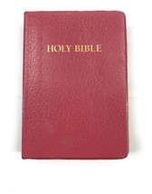 Holy Bible Red Letter Edition King James Ver. Dictionary Study Helps Hol... - $9.18