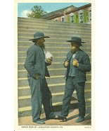 Amish Men of Lancaster County, Pa, unused 1910-... - $4.99