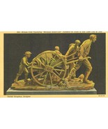 Bronze Cast Typifying Mormon Hand Cart, Pioneers, en Route to Salt Lake ... - $4.99