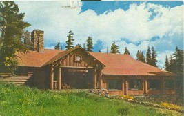 Cedar Breaks Lodge, Cedar Breaks National Monument, Utah 1969 used Postcard  - $5.77